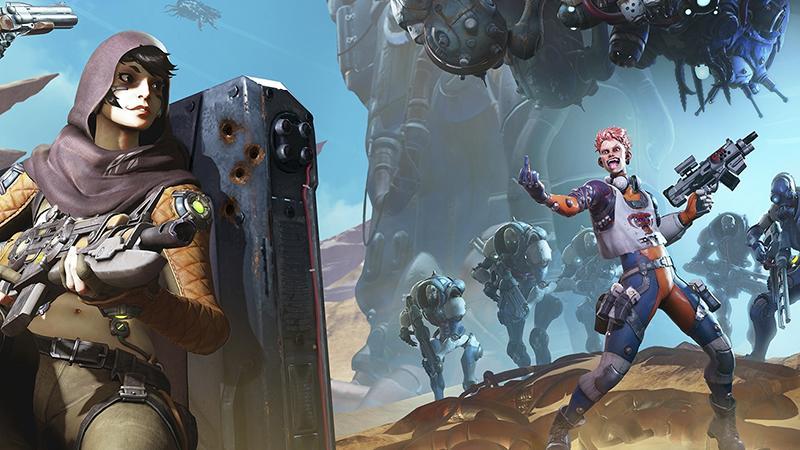 Фритуплейная Spacelords уже доступна на PC, PS4 и Xbox One