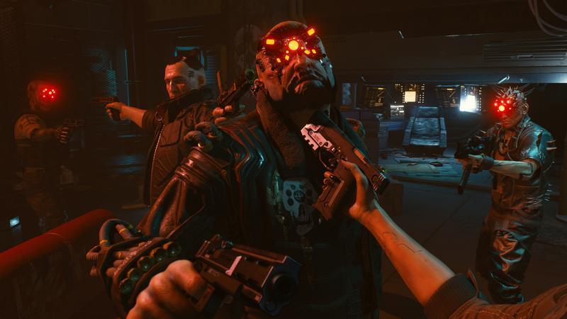 Дебютный геймплей Cyberpunk 2077 в прямом эфире