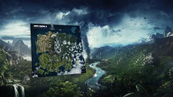 Разнообразные биомы на интерактивной карте Just Cause 4