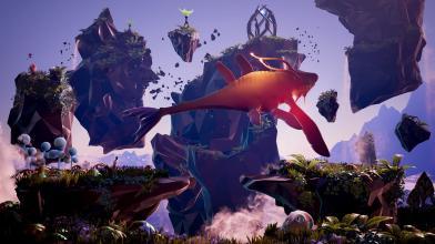 Живописный фантастический мир в релизном трейлере Planet Alpha