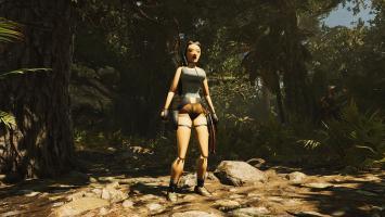 В Shadow of the Tomb Raider можно разблокировать низкополигональную модель Лары