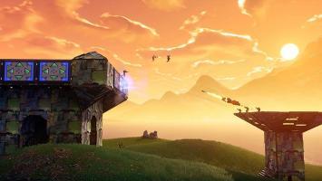Портативная крепость и стадион в обновлении 5.41 для Fortnite: Battle Royale