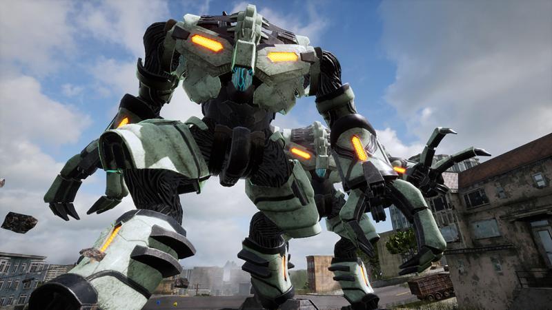 Новый геймплейный ролик Earth Defense Force: Iron Rain