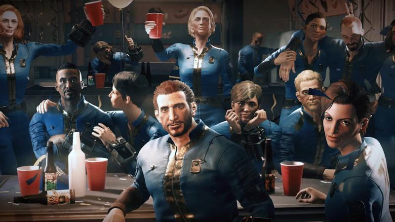 Вступительный ролик Fallout 76