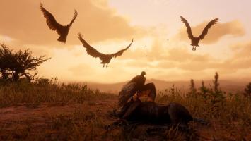 Животные Red Dead Redemption 2 меняют поведение в зависимости от сезона года