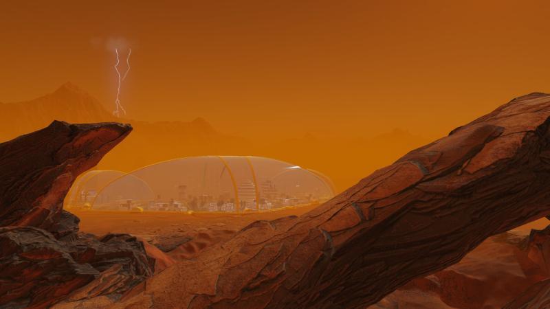 Для градостроительного симулятора Surviving Mars анонсировано крупное дополнение Space Race