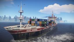 В сурвайвале Rust появился грузовой корабль с лутом