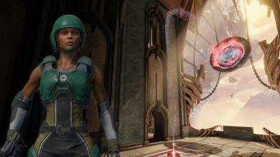 Новый герой Афина уже доступен всем игрокам Quake Champions