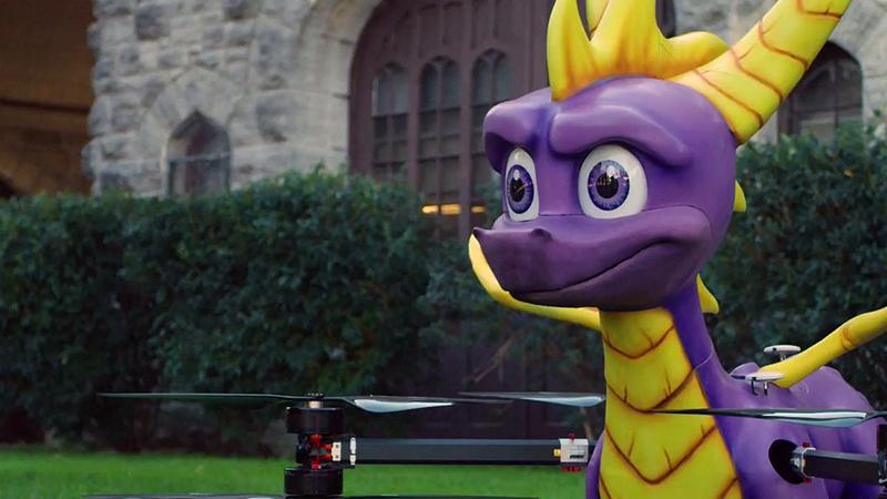 Снуп Дог получит свою копию Spyro Reignited Trilogy от огнедышащего Спайро-дрона