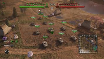 """В World of Tanks: Наемники дебютирует RTS-режим """"Поле боя"""""""
