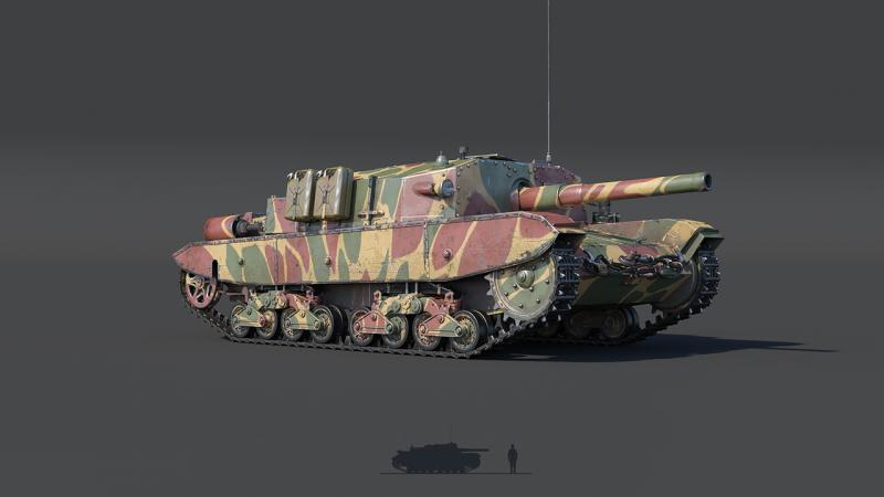 танки в war thunder уже вышли