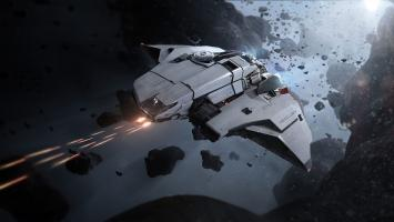 Игрок Star Citizen поймал своего друга, падающего к поверхности планеты из верхних слоев атмосферы