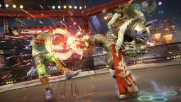 Мардук, Армор Кинг и Джулия выходят на ринг Tekken 7