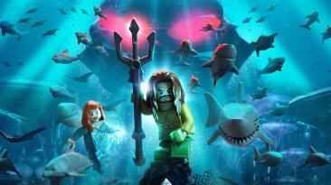 """Для LEGO DC Super-Villains анонсированы дополнения """"Аквамен"""""""