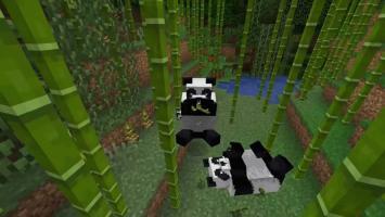 Свежий апдейт для Minecraft добавил в игру панд, бамбук и другой контент