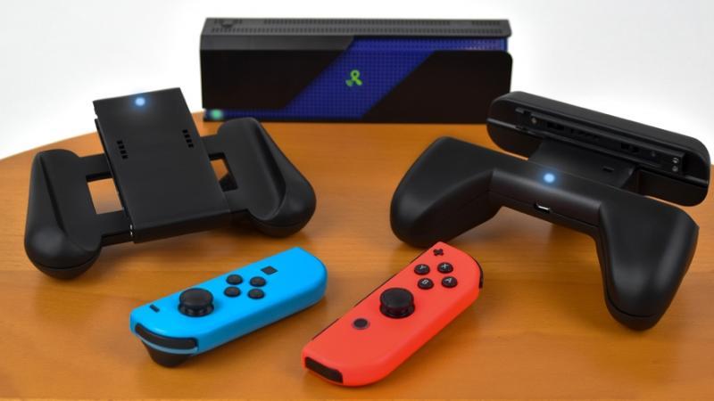 Анонсирована беспроводная зарядка для контроллеров Nintendo Switch