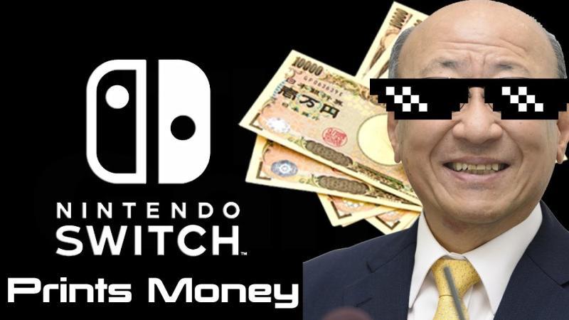 Nintendo Switch - самая продаваемая консоль в 2018 году в США