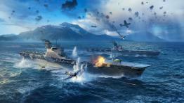 Новый класс авианосцев уже в World of Warships