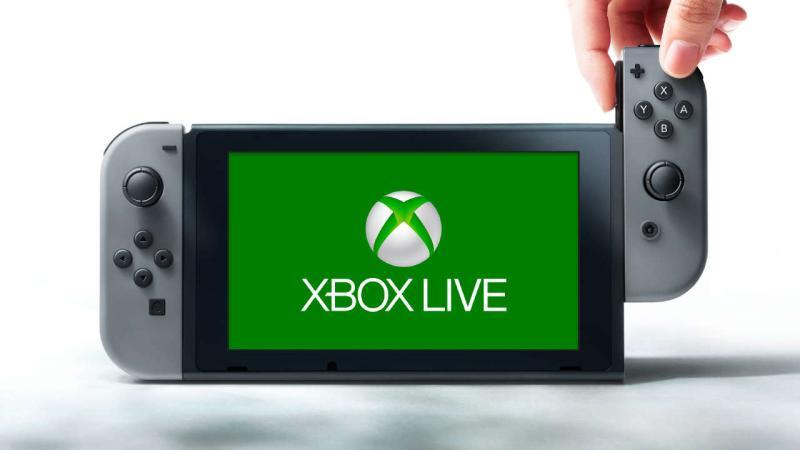 Microsoft планирует добавить элементы XBOX Live в Nintendo Switch