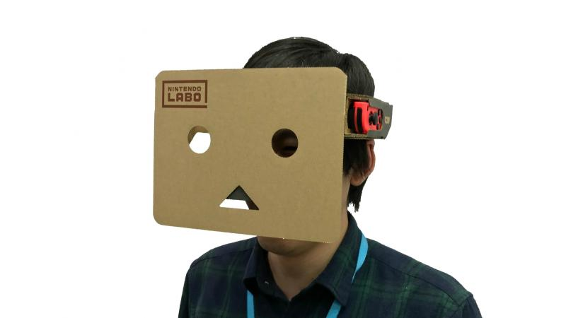 Слух: VR станет частью функционала Nintendo Switch