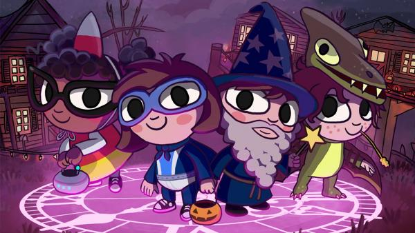 Amazon выпустила трейлер мультсериала по мотивам Costume Quest