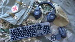 Боевой комплект Logitech для киберзащитников Отечества