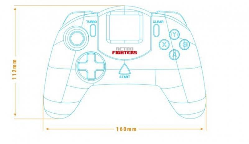 Retro Fighters обновила классический геймпад для Sega Dreamcast