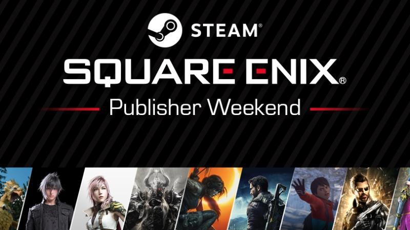 В Steam началась распродажа игр Square Enix