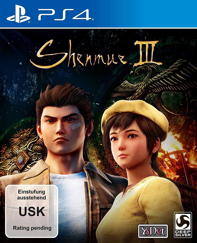 Deep Silver показала обложку Shenmue III