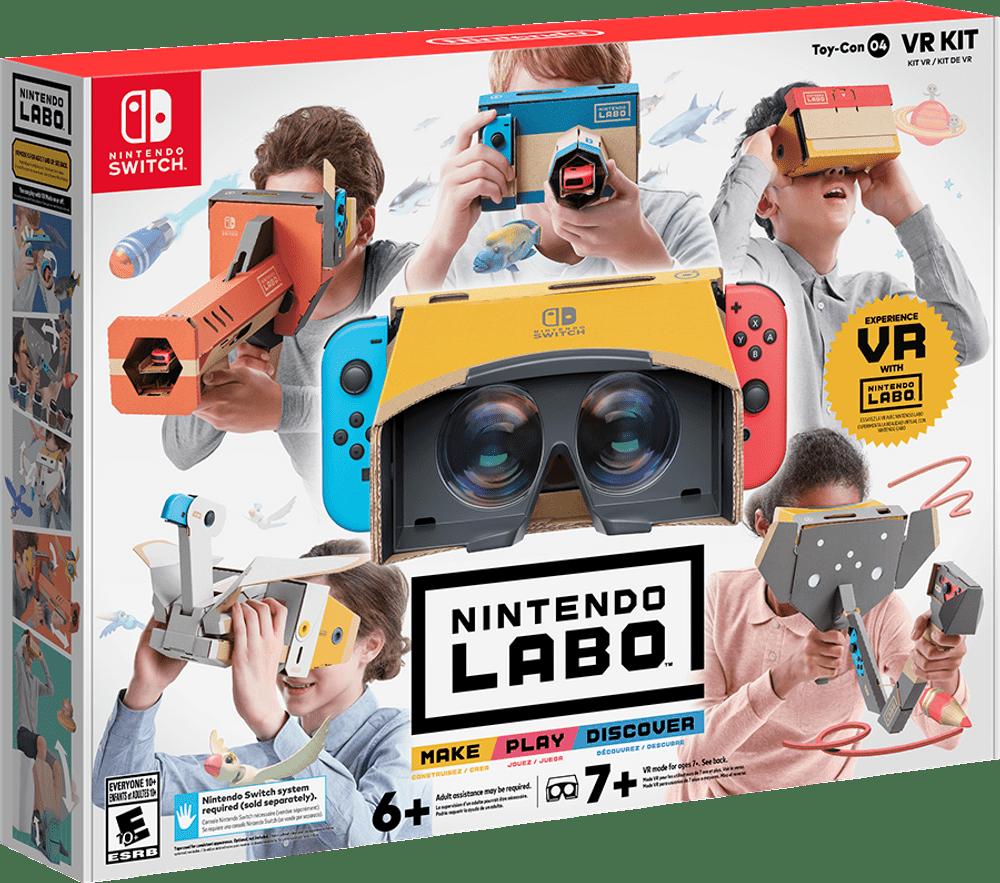VR-набор для Nintendo Labo подтвержден официально