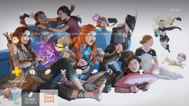Sony выпустила тему для PS4 по случаю празднования 8 марта