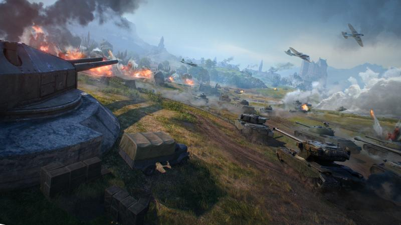 "В World of Tanks вернулся режим ""Линия фронта"""