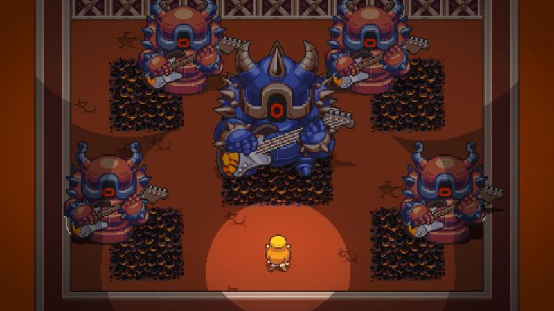 На Switch появится ритмичный dungeon crawler Cadence of Hyrule
