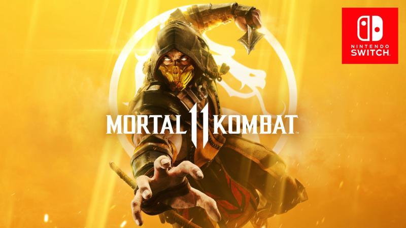 Mortal Kombat 11 займет 23 гигабайта на Switch