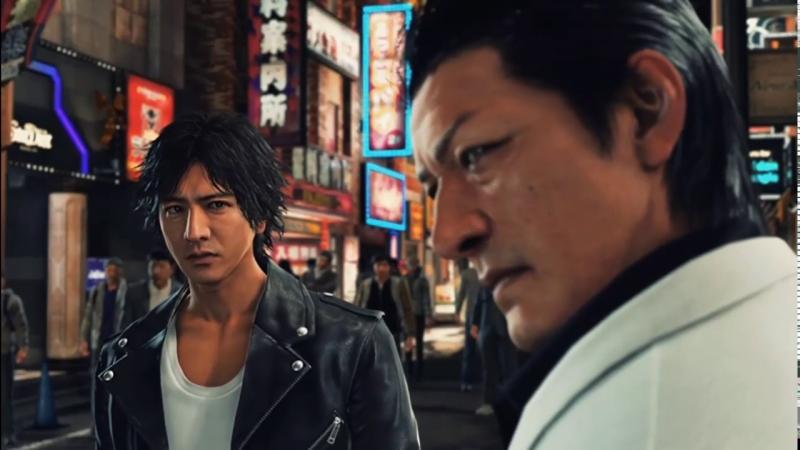 Sega представила обновленную модель Киохея Хамуры из Judgment