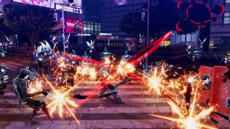 Persona 5S неожиданно оказалась action RPG в духе Dynasty Warriors