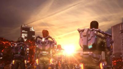 И ДИ ЭФ!!! Обзор Earth Defense Force: Iron Rain