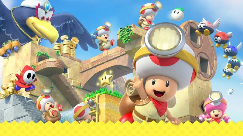Видеоблогер обнаружил массу неиспользованных уровней в файлах Captain Toad для Switch