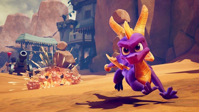 Spyro Reignited Trilogy заглянет на PC и Nintendo Switch этой осенью