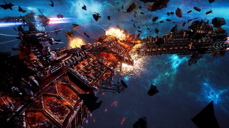 Battlefleet Gothic: Armada 2 - Chaos Campaign доступна для игры