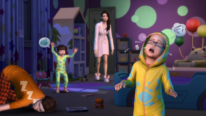 Трагедия в The Sims 4 - социальные службы забирают детей из-за игрового бага