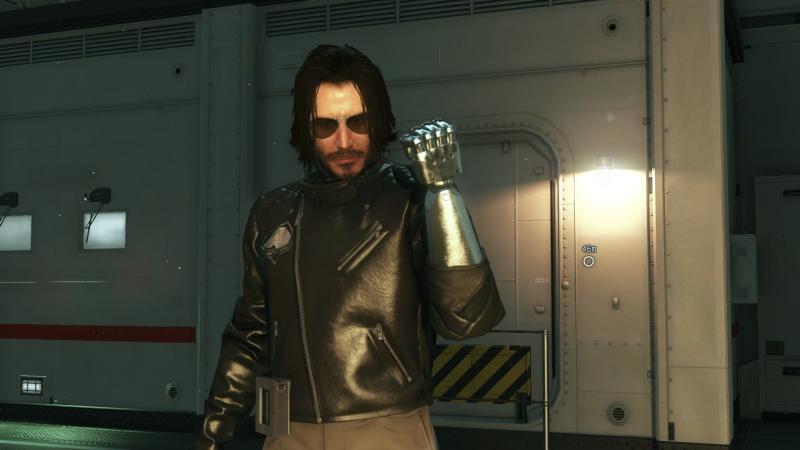 Киану Ривз в ролях Джона Уика и Джонни Сильверхэнда теперь в Metal Gear Solid 5 - выглядит максимально круто