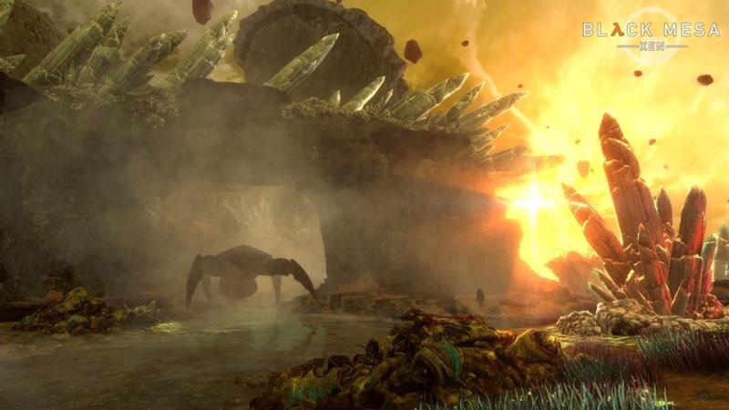 Бета-версия Black Mesa для глав Xen и Gonarch доступна для скачивания - разработка завершена