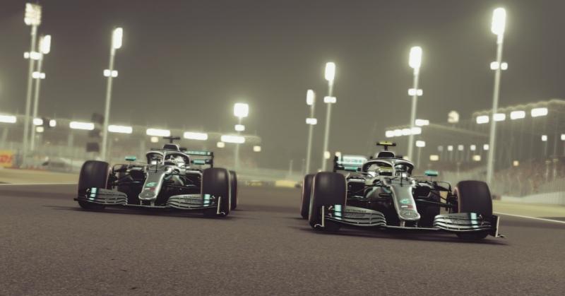 F1 2019 получила поддержку NVIDIA DLSS и AMD FidelityFX в новом патче 1.07