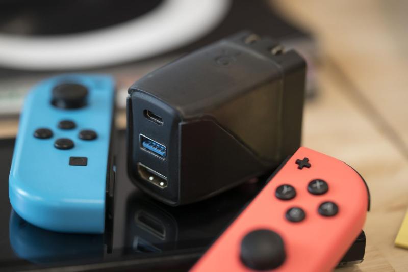 Док-станция Nintendo Switch была профинансирована на Kickstarter