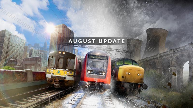 Train Sim World Августовское обновление