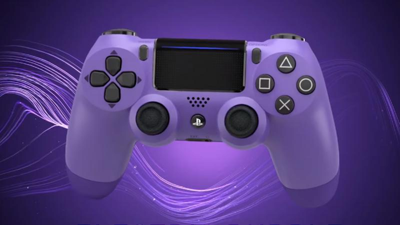 Sony представит новые цвета для контроллера и гарнитуры PS4