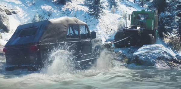 Анонсирована SnowRunner... эксклюзивно для Epic Games Store