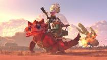 Анонсирован Snapfire, новый герой Dota 2 - бешеная бабка на огнедышащей ящерице