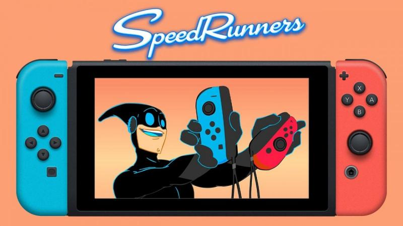 SpeedRunners Трейлер анонса на Nintendo Switch
